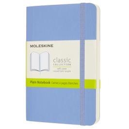 Moleskine: Zápisník měkký sv. modrý S
