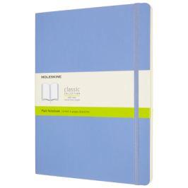 Moleskine: Zápisník měkký čistý sv. modrý XL