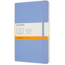 Moleskine: Zápisník měkký linkovaný sv. modrý L