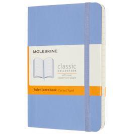 Moleskine: Zápisník měkký linkovaný sv. modrý S