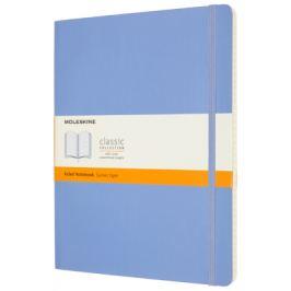 Moleskine: Zápisník měkký linkovaný sv. modrý XL