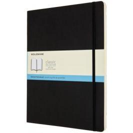 Moleskine: Zápisník měkký tečkovaný černý XXL