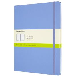 Moleskine: Zápisník tvdý čistý sv. modrý XL