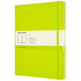 Moleskine: Zápisník tvrdý čistý žlutozelený XL