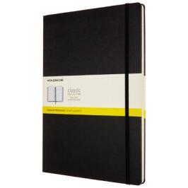 Moleskine: Zápisník tvrdý čtverečkovaný černý A4 Pevná vazba