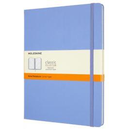 Moleskine: Zápisník tvrdý linkovaný sv. modrý XL