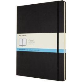 Moleskine: Zápisník tvrdý tečkovaný černý XXL