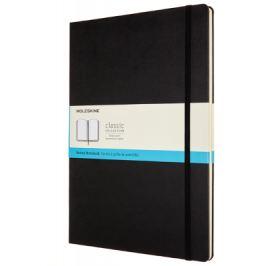MOLESKINE zápisník - tvrdé desky, A4, tečkovaný, černý