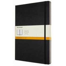 Moleskine: Zápisník tvrdý linkovaný černý A4
