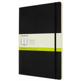 Moleskine: Zápisník měkký čistý černý A4 Měkká vazba