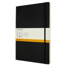 Moleskine: Zápisník měkký linkovaný černý A4