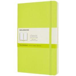 Moleskine: Zápisník měkký čistý žlutozelený L
