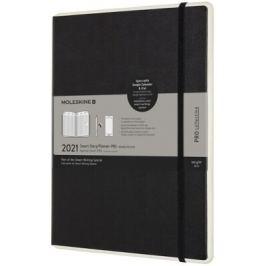 Smart plánovací zápisník Moleskine 2021 paper tablet PRO XL černý