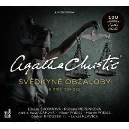 Svědkyně obžaloby a další povídky - Agatha Christie - audiokniha Detektivky