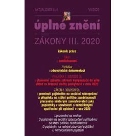 Aktualizace III/4 2020 Zákoník práce, Zákon o zaměstnanosti - Transpozice směrnice Evropského parlamentu a Rady (EU) Zákony