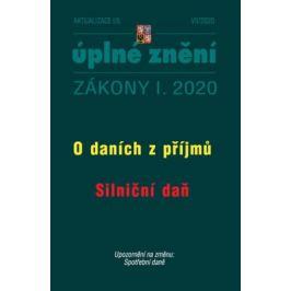 Aktualizace I/5 2020 O daních z příjmu, Silniční daň - Zmírnění dopadu pandemie nemoci COVID-19 na ekonomiku České republiky. Daně
