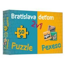Bratislava deťom 2v1 - Daniela Kollárová, Kamila Kráľová Knihy ve slovenštině