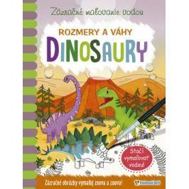 Zázračné maľovanie vodou Dinosaury Knihy pre deti