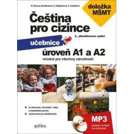 Čeština pro cizince A1 a A2 - Kateřina Vodičková, Marie Boccou-Kestřánková, Dagmar Štěpánková, Jitka Veroňková Čeština pro cizince