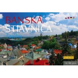 Banská Štiavnica Tajchy Panoramatické - Vladimír Bárta Mapy a cestopisy
