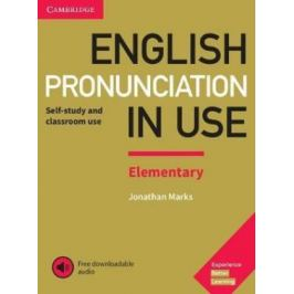 English Pronunciation in Use Elementary Book with Answers and Downloadable Audio - Jonathan Marks Anglický jazyk
