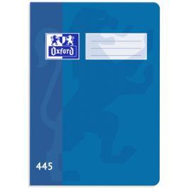 Školní sešit Oxford 445 modrý
