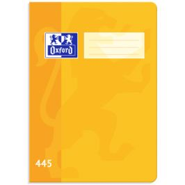 Školní sešit Oxford 445 žlutý A4