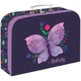 Kufřík lamino 34 cm Motýl