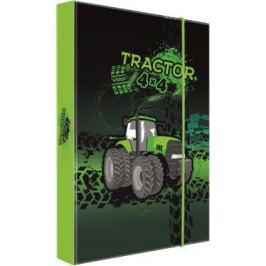 Box na sešity A4 traktor Školní desky