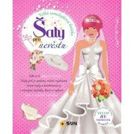Šaty pro nevěstu - velká samolepková knížka Samolepkové knihy