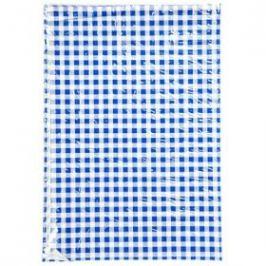 Ubrus 65x50cm modro-bílé kostky