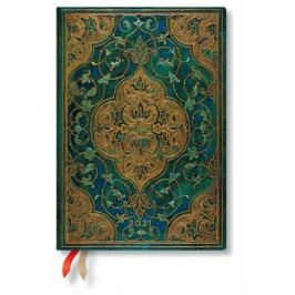 Paperblanks Diář - Turquoise Chronicles / midi