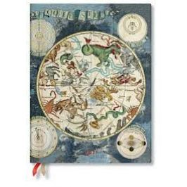 Paperblanks Diář - Celestial Planisphere / ultra Kalendáře