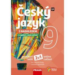 Český jazyk 9 s nadhledem 2v1 - Hybridní pracovní sešit 9. třída
