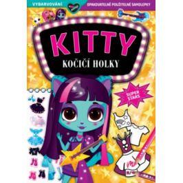 KITTY - Kočičí holky - Superstars Samolepkové knihy