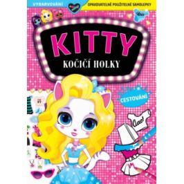 KITTY - Kočičí holky - Cestování Samolepkové knihy