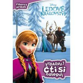 Ledové království - Filmový příběh - Vybarvuj, čti si, nalepuj - Walt Disney Samolepkové knihy