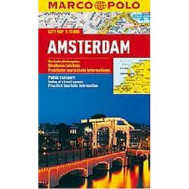 Amsterdam - City Map 1:15000 MARCO POLO