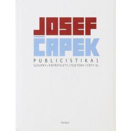 Publicistika 1 - Josef Čapek, Václav Sokol - e-kniha ebook