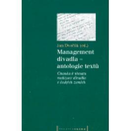 Management divadla - antologie textů - Jan Dvořák