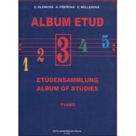 Album etud III - E. Kleinová, Alena Fišerová, E. Müllerová