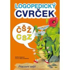 Logopedický cvrček - ČŠŽ / CSZ - Koppová Zdeňka