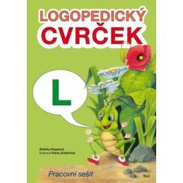 Logopedický cvrček - L - Koppová Zdeňka
