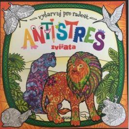 Antistres zvířata - Vybarvuj pro radost