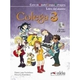 Colega 3: Učebnice + Pracovní sešit + CD - Maria Luisa Hortelano