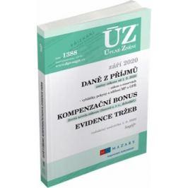 ÚZ 1388 Daně z příjmů, evidence tržeb 2020