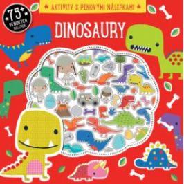 Dinosaury Aktivity s penovými nálepkami