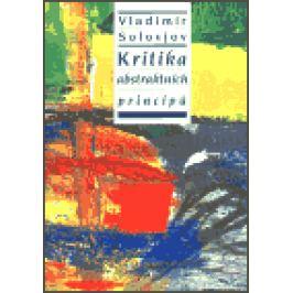 Kritika abstraktních principů - Vladimír Solovjov