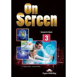 On Screen 3 - Student´s Book with Digibook App (Black edition) - Jenny Dooley, Virginia Evans