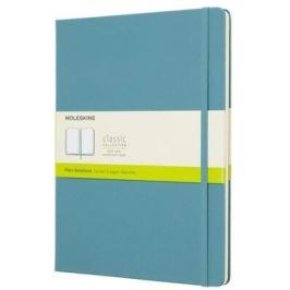 Moleskine: Zápisník tvrdý čistý modrozelený XL